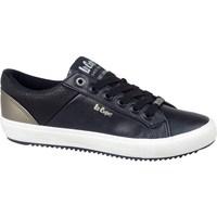 Zapatos Hombre Zapatillas bajas Lee Cooper LCJL2031041 Negros, Dorado
