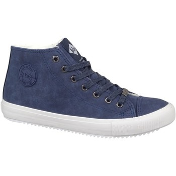 Zapatos Hombre Zapatillas altas Lee Cooper LCJL2031012 Azul marino