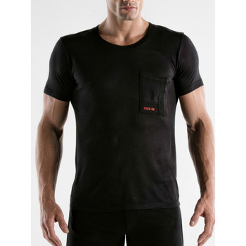 textil Hombre Camisetas manga corta Code 22 Camiseta de manga corta Core Code22 Pearl Black