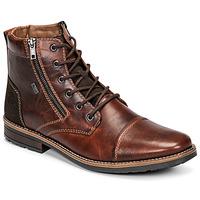 Zapatos Hombre Botas de caña baja Rieker  Marrón