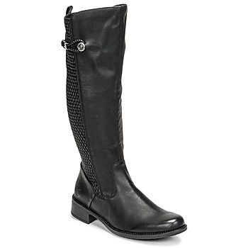 Zapatos Mujer Botas urbanas Rieker  Negro
