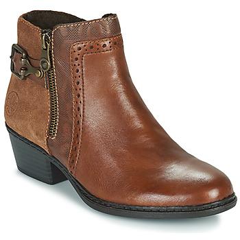 Zapatos Mujer Botines Rieker BELLA Marrón