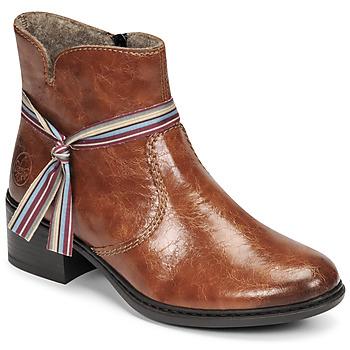 Zapatos Mujer Botines Rieker  Marrón