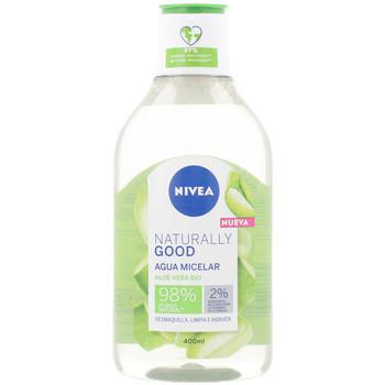 Belleza Mujer Desmaquillantes & tónicos Nivea Naturally Good Agua Micelar  400 ml