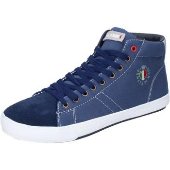 Zapatos Hombre Zapatillas altas Armata Di Mare BJ84 Azul