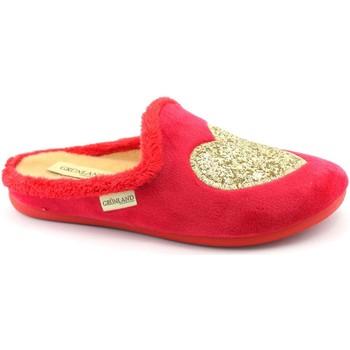 Zapatos Mujer Pantuflas Grunland GRU-I20-CI2940-RO Rosso