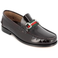 Zapatos Hombre Mocasín Pepe Parra 181404 Rojo