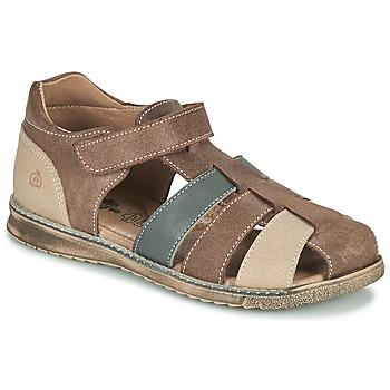 Zapatos Niño Sandalias Citrouille et Compagnie FRINOUI Marrón