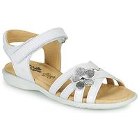 Zapatos Niña Sandalias Citrouille et Compagnie HERTUNE Blanco