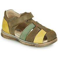 Zapatos Niño Sandalias Citrouille et Compagnie FRINOUI Kaki