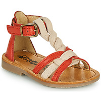 Zapatos Niña Sandalias Citrouille et Compagnie GITANOLO Coral / Rosa