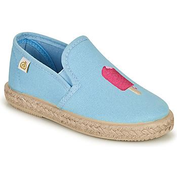 Zapatos Niña Bailarinas-manoletinas Citrouille et Compagnie OCELESTE Azul / Celeste