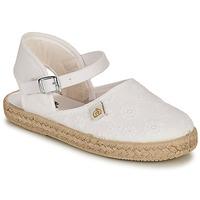 Zapatos Niña Bailarinas-manoletinas Citrouille et Compagnie ORINO Blanco