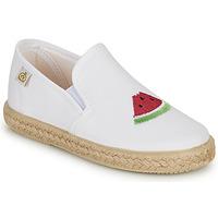 Zapatos Niña Bailarinas-manoletinas Citrouille et Compagnie OFADA Blanco