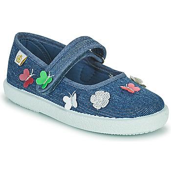 Zapatos Niña Bailarinas-manoletinas Citrouille et Compagnie OXINA Jeans