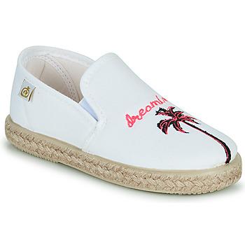 Zapatos Niña Bailarinas-manoletinas Citrouille et Compagnie OWAT Blanco