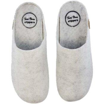 Zapatos Mujer Pantuflas Toni Pons Zapatillas de Casa  Mona-Fr Hielo Gris
