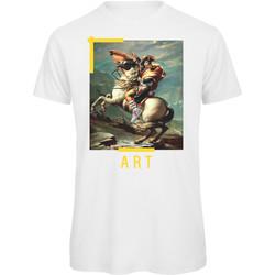textil Hombre Camisetas manga corta Openspace Art042228 blanco