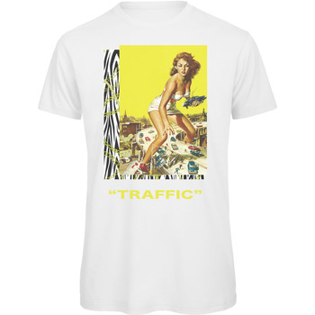 textil Hombre Camisetas manga corta Openspace Traffic blanco