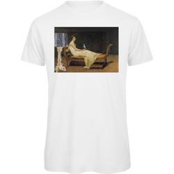 textil Mujer Camisetas manga corta Openspace Art Reading blanco