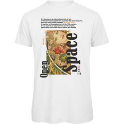 textil Mujer Camisetas manga corta Openspace Art Noveau blanco