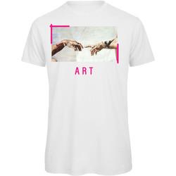 textil Hombre Camisetas manga corta Openspace Art042234 blanco