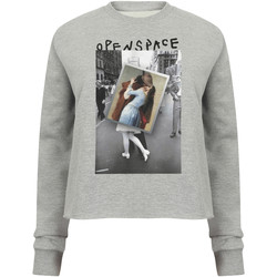 textil Mujer Sudaderas Openspace Photo Kiss gris