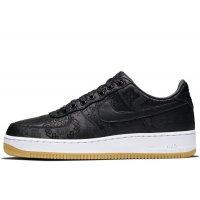 Zapatos Zapatillas bajas Nike Air Force 1 Low x CLOT x Fragment Black Black / University Red – White