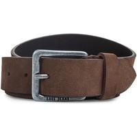 Accesorios textil Cinturones Lois Cinturón para mujer de Terciopelo de la firma Marron