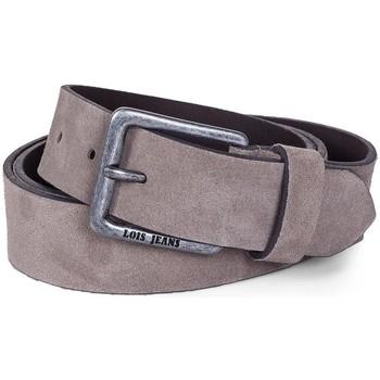 Accesorios textil Cinturones Lois Cinturón para mujer de Terciopelo de la firma Taupe