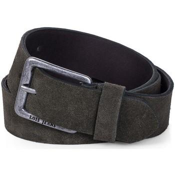 Accesorios textil Cinturones Lois Cinturón para mujer de Terciopelo de la firma Kaki