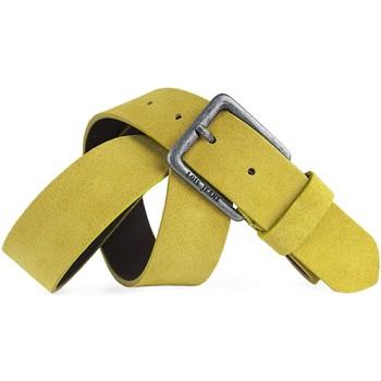 Accesorios textil Cinturones Lois Cinturón para mujer de Terciopelo de la firma Mostaza