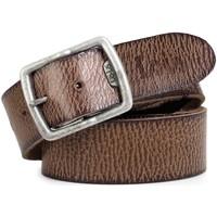 Accesorios textil Hombre Cinturones Lois Cracked leather Marron