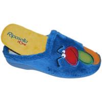 Zapatos Mujer Pantuflas Riposella RIP4593avio blu