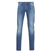 textil Hombre Vaqueros slim Jack & Jones JJIGLENN Azul / Medium