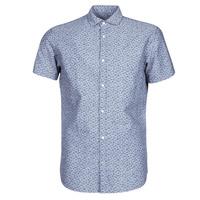 textil Hombre Camisas manga corta Jack & Jones JPRBLASUMMER Azul