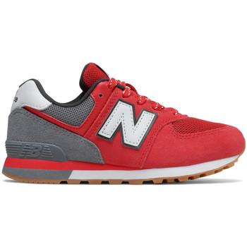 Zapatos Niños Zapatillas bajas New Balance Pc574 m Rojo