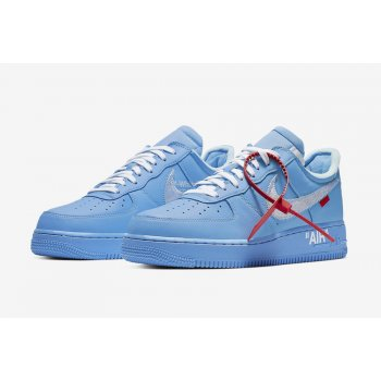 Zapatos Zapatillas bajas Nike Air Force 1 Low MCA University Blue/White-University Red-Metallic Silver