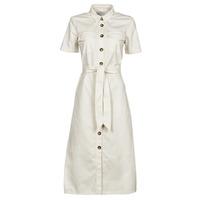 textil Mujer Vestidos largos Betty London ODRESS Crudo