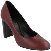 Zapatos Mujer Zapatos de tacón Durá - Durá 1601-I17 BURDEOS Rojo