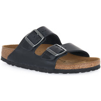 Zapatos Zuecos (Mules) Birkenstock ARIZONA BLACK OILED CALZ S Nero