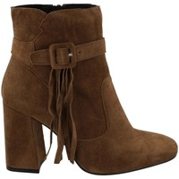 Zapatos Mujer Botines KMB A1332 Beige