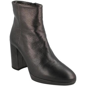Zapatos Mujer Botines Unisa TALASI BLACK Gris