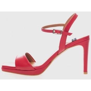 Zapatos Mujer Sandalias Angel Alarcon 20085 Rojo