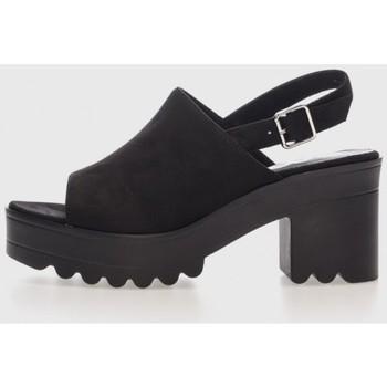 Zapatos Mujer Sandalias Emmshu ALESSAE Negro