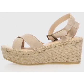Zapatos Mujer Alpargatas Macarena NAYA 3 Beige