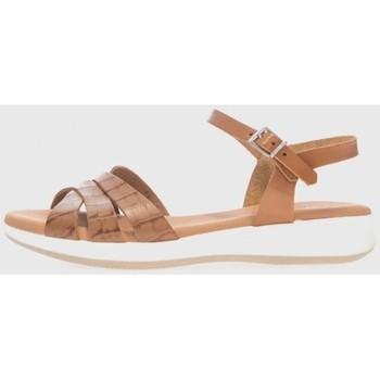 Zapatos Mujer Sandalias Kamome 4660 Marrón