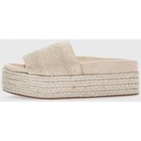 Zapatos Mujer Sandalias Kamome A2310 Plata