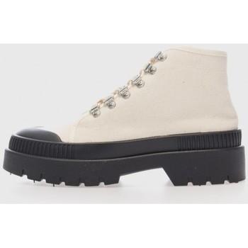 Zapatos Mujer Botines Kamome 6KM Blanco