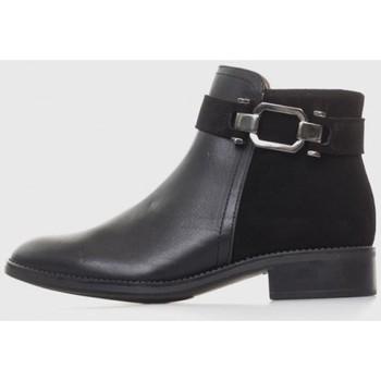 Zapatos Mujer Botines Kamome 4046 Negro